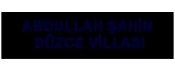 Abdullah Şahin Düzce Villası